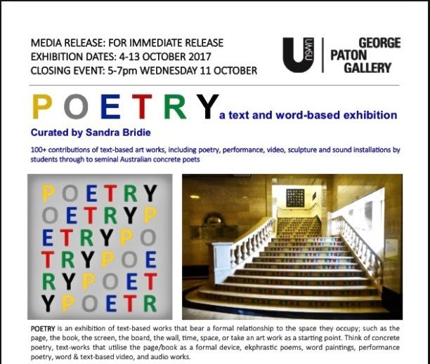 poetry exhibition 12 - 1